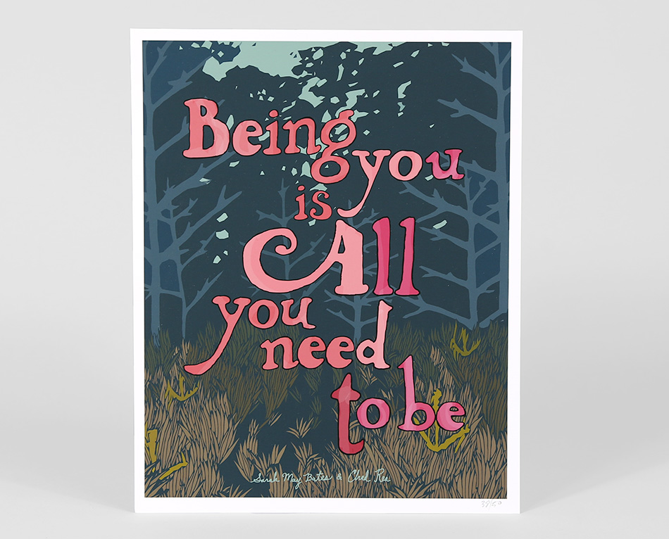 Being you is all you need to be