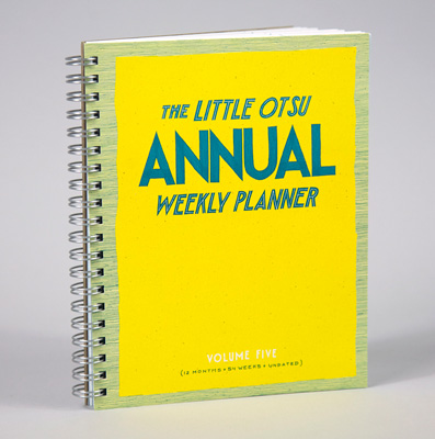 The Little Otsu Annual Weekly Planner Volume Five