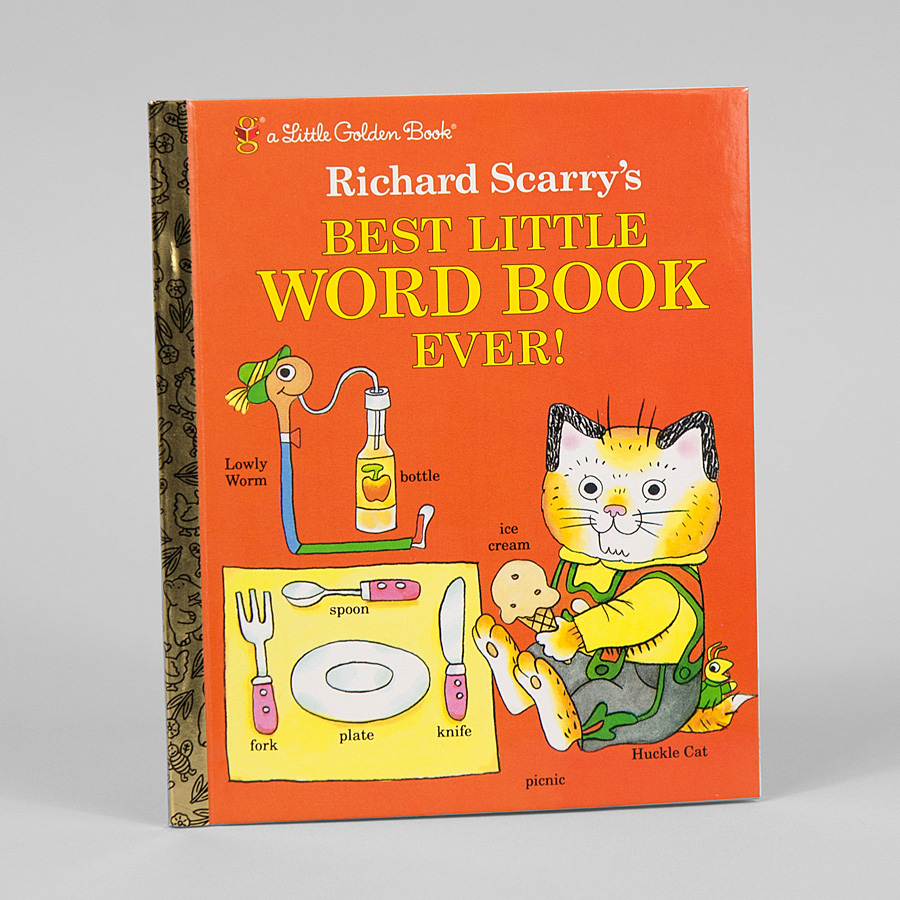 Best Little Word Book Ever (Little Golden Book) Richard Scarry